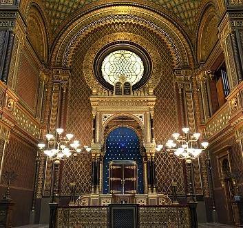 Czech Republic, Prague, Spanish Synagogue, Moorish Architecture