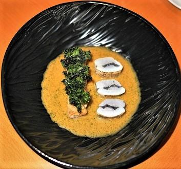 Czech Republic, Prague, Field Restaurant, Fish