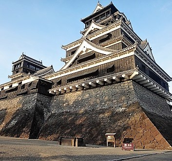 Japan, Kyushu, Kumamoto, Kumamoto Castle