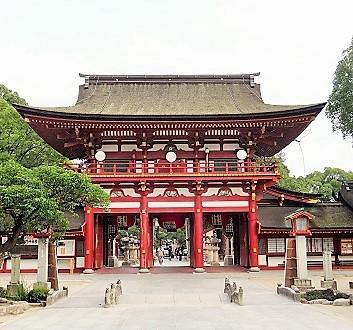 Japan, Kyushu, Dazaifu Tenmangu Shrine