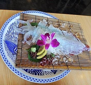 Japan, Kyushu, Fresh Squid