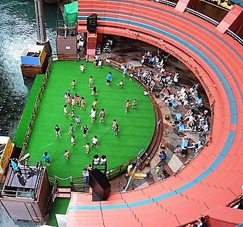 Japan, Kyushu, Fukuoka, Grand Hyatt Hotel, Canal City Hakata Mall