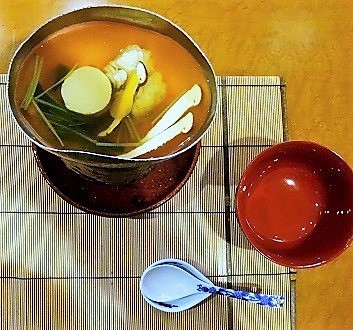 Japan, Kyushu, Fukuoka, Japanese Multi-Course Meal