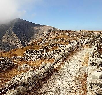 Greece, Santorini, Ancient City of Thera