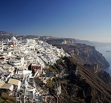 Greece, Santorini, Fira