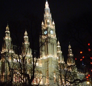 Austria, Vienna, Rathaus