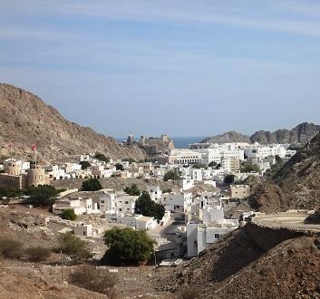 Oman, Muscat Landscape