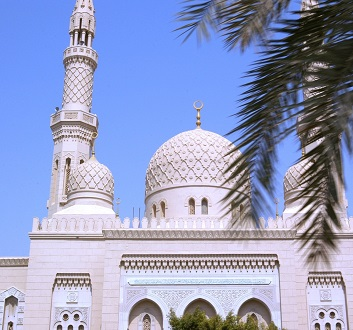 UAE, Dubai, Jumeirah Mosque