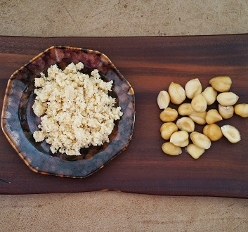 France, Grinded Hazelnuts