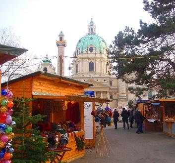 Austria, Vienna, Christmas Market