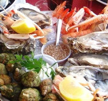 France, Trouville Sur Mer, Fruit de Mer