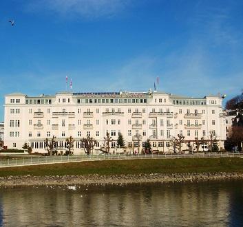 Austria, Salzburg, Hotel Sacher Salzburg
