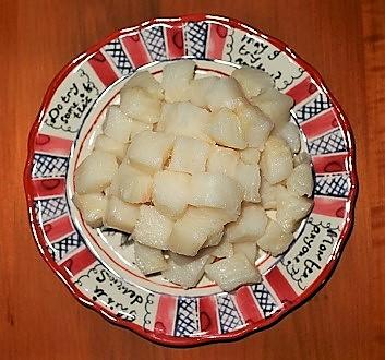 Cubed Chilean Seabass
