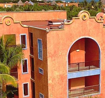 Mexico, Riviera Maya, Mexican Architecture