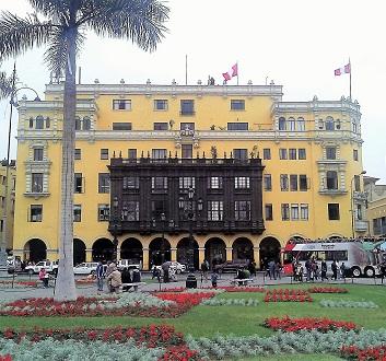Peru, Lima, Plaza de Armas