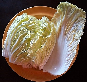 Sliced Nappa Cabbage