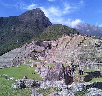 Peru, Machu Picchu, Sun Gate