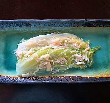 Cabbage with Scallops