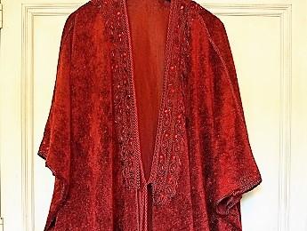 Lebanon, Red Oriental Robe