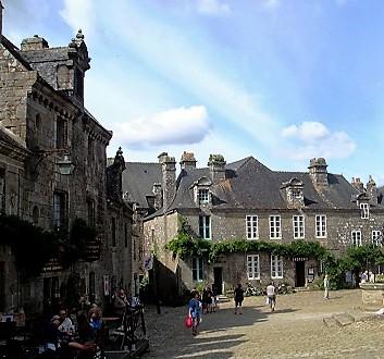 France, Brittany, Locronan