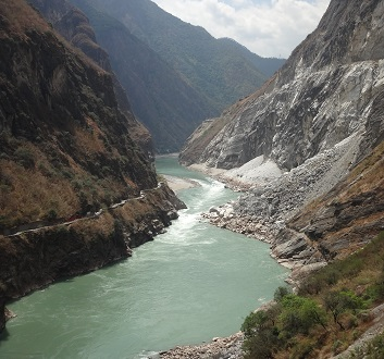 China, Yunnan Province, Tiger Leaping Gorge