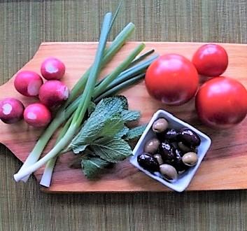 Fresh Vegetables, Olives