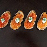 Red Caviar Tasting