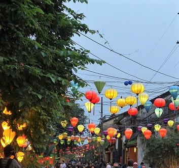 Vietnam, Hoi An Ancient Town, Lanterns