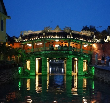 Vietnam, Hoi An Ancient Town, Japanese Bridge