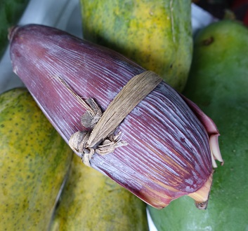 Vietnam, Hoi An Central Market, Banana Flower