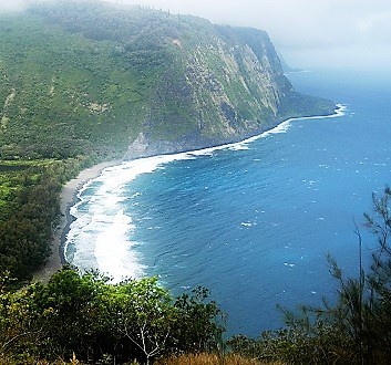 USA, Hawai'i Island, Hamakua Coast, Waipi'o Valley