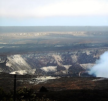 USA, Hawai'i Island, Hawaii Volcanoes National Park, Kilaulea Volcano