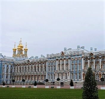 Russia, Saint Petersburg, Catherine Palace & Park