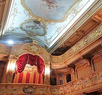 Russia, Saint Petersburg, Yusupov Palace, Palace Theatre