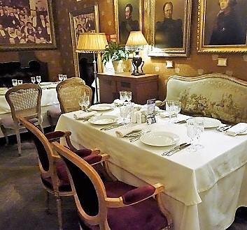Russia, Saint Petersburg, Tsar Restaurant