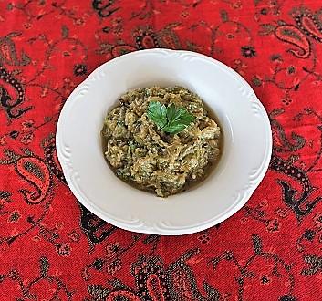 Persian Eggplant Salad