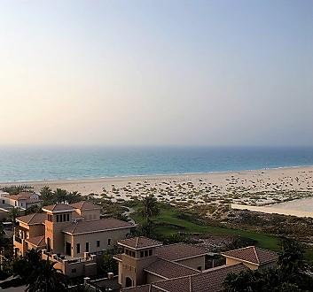 UAE, Abu Dhabi, Saadiyat Island, Beach
