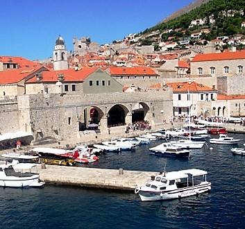 Croatia, Dubrovnick, Old Harbour
