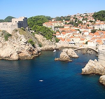 Croatia, Dubrovnick, Lovrijenac Fort