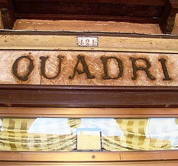 Italy, Venice, Grand Caffe and Ristorante Quadri
