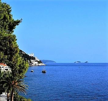 Croatia, Dubrovnick, Grand Villa Argentina Hotel, Sea View