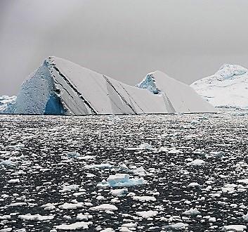 Antarctica, Brialmont Cove, Cayley Glacier
