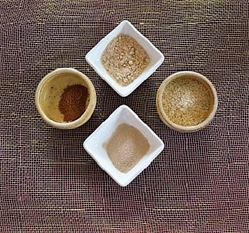 Yeast, Anise, Mahleb, Sesame Seeds