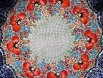 Poland, Ceramic Baking Platter