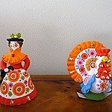 Rosja, Gliniane Figurki