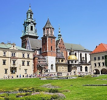 Poland, Kraków, Royal Castle