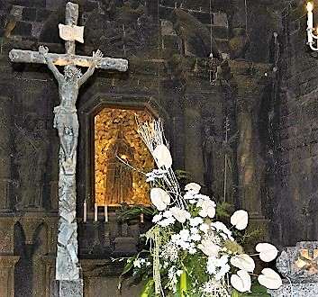 Poland, Kraków, Wieliczka, Chapel