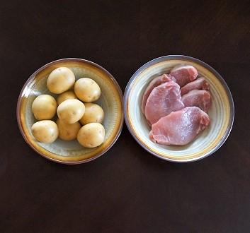Potatoes, Pork Loin