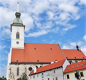 Slovakia, Bratislava, St. Martin's Cathedral