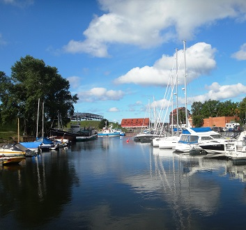 Lithuania, Klaipėda, Old Castle Harbour